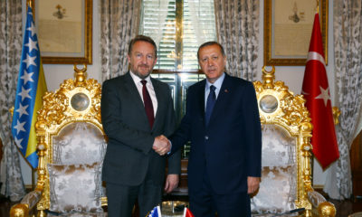Erdogan und Izetbegovic