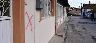 Häuser von Aleviten markiert