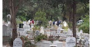 baba kız ölü bulundu mezarlık