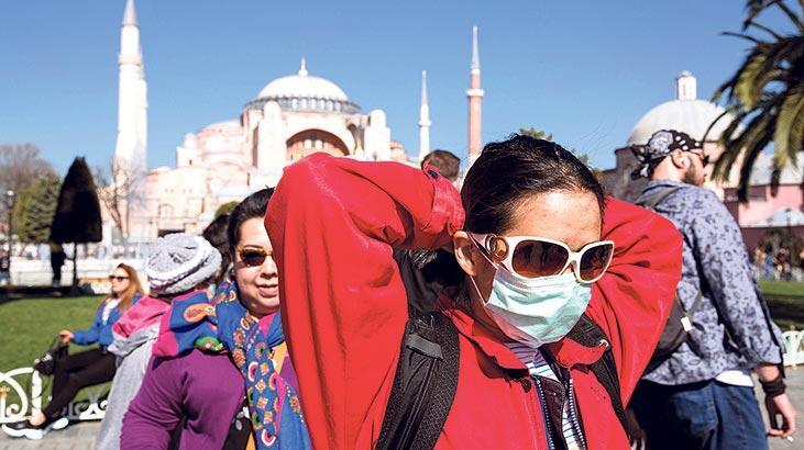 turist, maske, İstanbul